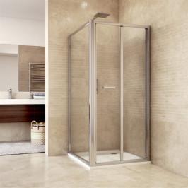 Mereo Sprchový kout, Mistica Exclusive, čtverec, 90 cm, chrom. profily. Výplň: čiré