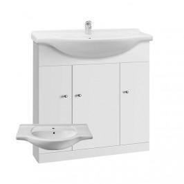 A-interiéry Vilma 75 - koupelnová skříňka s keramickým umyvadlem