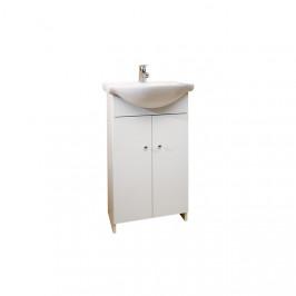 A-interiéry Fiona 50 - koupelnová skříňka s keramickým umyvadlem