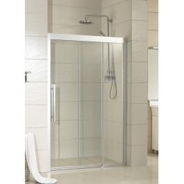 Olsen Spa 3-dílné posuvné sprchové dveře Martos 100x195 cm Varianta: Pravá