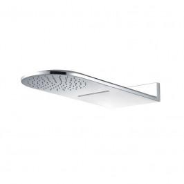 Mereo Talířová sprcha horní, s vodopádem, půlkulatá 600 x 251 mm, nerez CB496