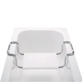 Mereo Sedátko vanové, stavitelné, nosnost 90 kg, chrom/polypropylen (VA365)