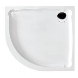 Gelco HERA90 sprchová vanička z litého mramoru, čtvrtkruh, 90x90x7,5cm, R550