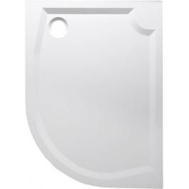 Gelco RIVA sprchová vanička z litého mramoru, čtvrtkruh 100x80cm, levá