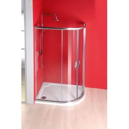 Gelco SIGMA čtvrtkruhová sprchová zástěna 1200x900 mm, R550, 2 dveře, L/R, čiré sklo