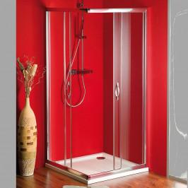 Gelco SIGMA čtvercová sprchová zástěna 900x900 mm, sklo Brick