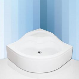 Roltechnik SEMIDEEP NEO 80x80 cm- Čtvrtkruhová samonosná polohluboká sprchová vanička