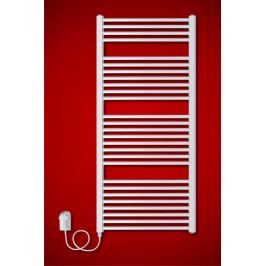ELVL BKO.ER 600 x 1680 mm koupelnový radiátor  s regulátorem teploty, oblý El. vývod: Levé provedení