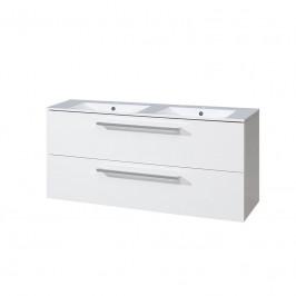 Mereo Koupelnová skříňka s keramickým dvojmyvadlem 120 cm