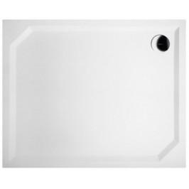 Gelco SARA sprchová vanička z litého mramoru, obdélník 90x80x4cm