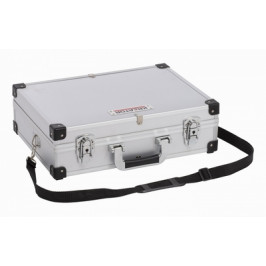 KREATOR KRT640101S - Hliníkový kufr 420x300x125mm stříbrný