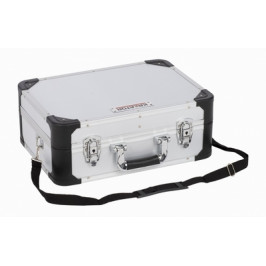 KREATOR KRT640104S - Hliníkový kufr 433x313x163mm stříbrný