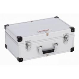 KREATOR KRT640260S - Hliníkový kufr na 60CD stříbrný