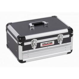 KREATOR KRT640601B - Hliníkový kufr 430x300x205mm 1 zásuvka