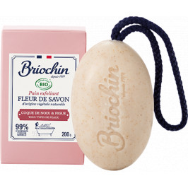 BRIOCHIN Fleur de savon Tuhé mýdlo - vlašský ořech a fík 200g