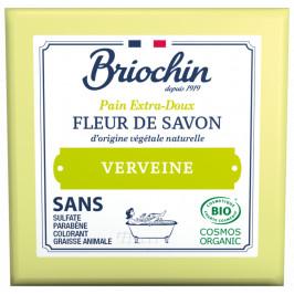 BRIOCHIN Fleur de savon Tuhé mýdlo MINI - mléko a verbena 50g