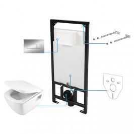 A-interiéry Amsterdam S6W Podomítkový WC set