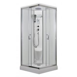ARTTEC - SMARAGD parní sprchový box se sedátkem Výplň: čiré