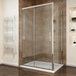 ROSS Comfort KOMBI - obdélníkový sprchový kout 110x90 cm Výplň: čiré