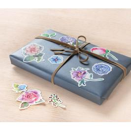 Sada dekoračních nálepek Květy, 150 dílná