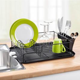 Odkapávač na nádobí, černý