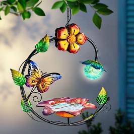 Závěsné solární pítko Butterfly