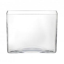 Ambia Home VÁZA, sklo, 20 cm - čiré
