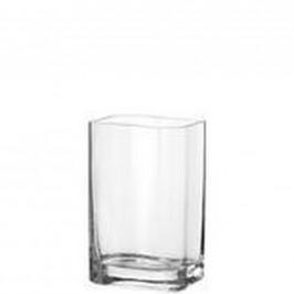 Leonardo VÁZA, sklo, 25 cm - čiré