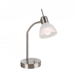 Xora LED LAMPA NA PSACÍ STŮL, 30 cm - bílá, barvy niklu