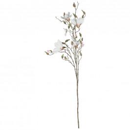 UMĚLÁ KVĚTINA magnolie 107 cm - krémová, pink