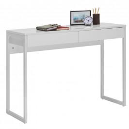 Carryhome PC STŮL, bílá, barvy chromu, 102/40/76 cm - bílá, barvy chromu