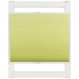 Homeware PLISÉ, poloprůhledné, 60/130 cm - zelená