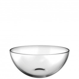 Leonardo MISKA, sklo, 25,5 cm - průhledné