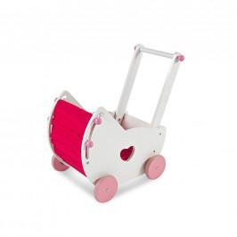 My Baby Lou KOČÁREK PRO PANENKY - růžová, bílá, pink