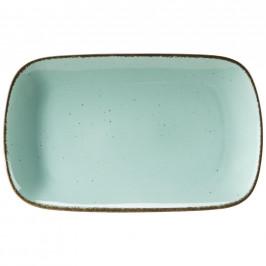 Ritzenhoff Breker SERVÍROVACÍ PODNOS, keramika, 20/33 cm - světle modrá
