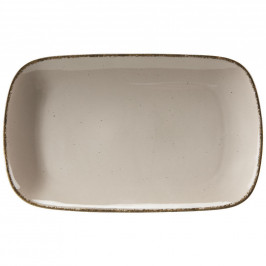 Ritzenhoff Breker SERVÍROVACÍ PODNOS, keramika, 20/33 cm - hnědá, šedá