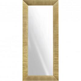 NÁSTĚNNÉ ZRCADLO, 79/179/3,5 cm, - barvy zlata