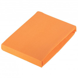 Novel PROSTĚRADLO NAPÍNACÍ, žerzej, oranžová, 180/200 cm - oranžová