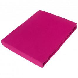 Novel PROSTĚRADLO NAPÍNACÍ, žerzej, pink, 150/200 cm - pink
