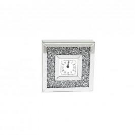 Ambia Home STOLNÍ HODINY, barvy stříbra, průhledné - barvy stříbra, průhledné