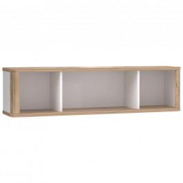 Xora ZÁVĚSNÝ DÍL, bílá, barvy dubu, 120/30,4/25,8 cm - bílá, barvy dubu