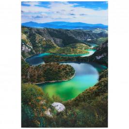 Monee OBRAZ SKLENĚNÝ, krajina & příroda, 80/120 cm - vícebarevná