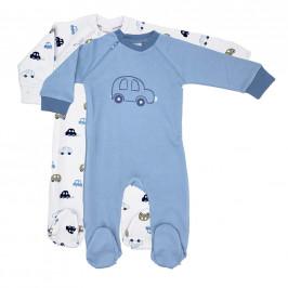 My Baby Lou PYŽAMO - modrá, bílá, šedohnědá, tmavě modrá