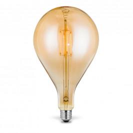 LED ŽÁROVKA, teplá bílá, E27/4 W - jantarové barvy