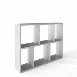 Stylife REGÁL, světle šedá, 97,6/74/34 cm - světle šedá
