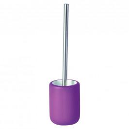 Sadena WC SADA - ŠTĚTKA A DRŽÁK - fialová
