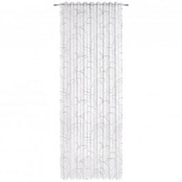 Esposa HOTOVÝ ZÁVĚS, průhledné, 140/245 cm - bílá, světle šedá
