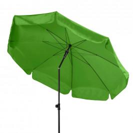 SLUNEČNÍK, nastavitelná výška, vzpěrný kloub, 200 cm - antracitová, světle zelená