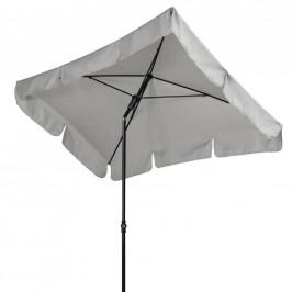SLUNEČNÍK, vzpěrný kloub, 120/225 cm - antracitová, světle šedá