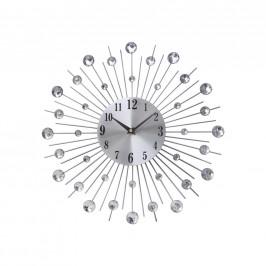 Ambia Home NÁSTĚNNÉ HODINY, barvy stříbra, 40 cm - barvy stříbra
